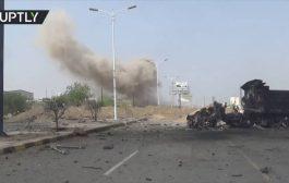 مقتل امرأة واصابة اربعة اخرين بقصف حوثي استهدف حي سكني بالحديدة