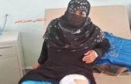 مليشيات الحوثي ترتكب جريمة بحق امرأة من منطقة شخب الضالع