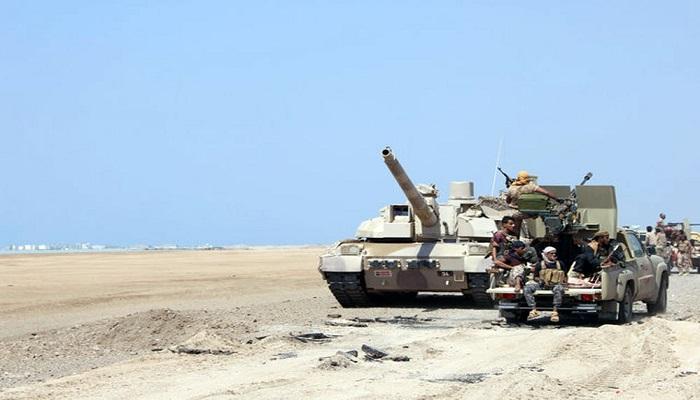 المشتركة تعلن نقل المعركة مع الحوثيين من شمال الضالع إلى عمق تعز