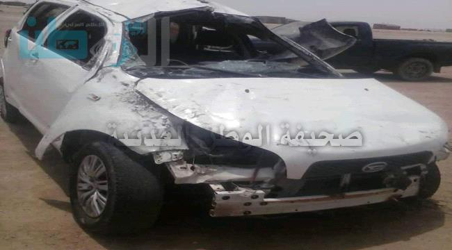 حادث مروري مروع يؤدي بحياة شخصين واصابة اثنين آخرين من افراد اللواء التاسع صاعقة براس عمران