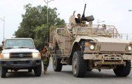 لأول مرة مسؤول عسكري سعودي يزور جبهة الضالع