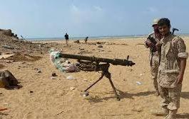 الجيش يستعيد مواقع جديدة اثر هجوم واسع  على مواقع الحوثيين بنهم