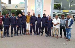 البعثة نادي الجلاء تغادر عدن للمشاركة في البطولة المفتوحة للأندية و المنتخبات للجودو في الاْردن