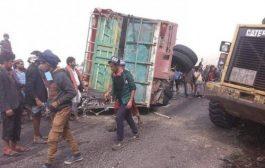 حادث مروري بمحافظة إب يودي بحياة ستة أشخاص