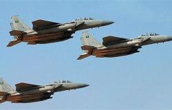 12 قتيلا حوثيا في غارات لطيران التحالف شمال صعدة