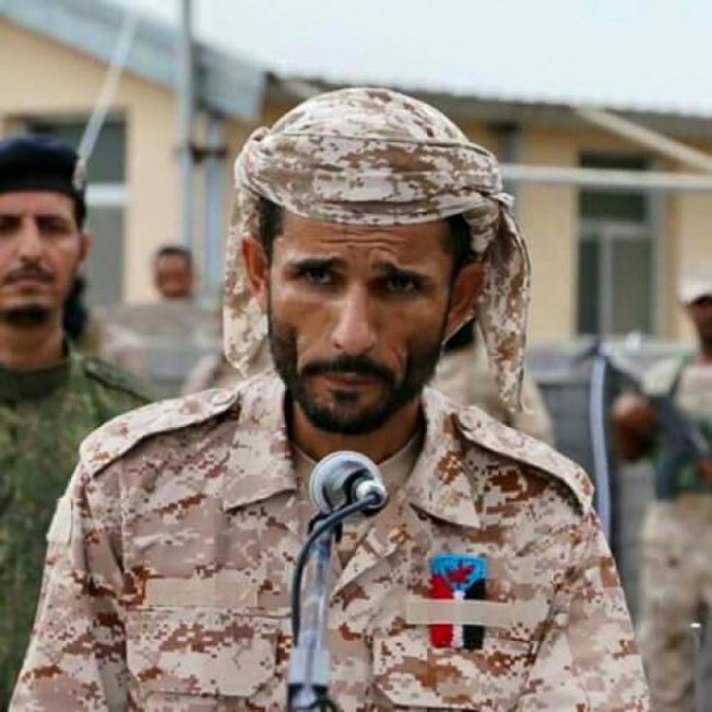 إستشهاد قائد اللواء الأول دعم واسناد بإنفجار وقع بمعسكر الجلاء ومليشيات الحوثي تتبنى الهجوم