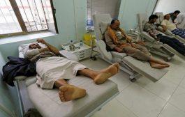 تعز : أكثر من 1100 إصابة بحمى الضنك وحالة وفاة واحدة