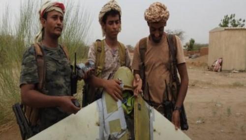 الجيش الوطني يسقط طائرة مسيرة أطلقها مليشيات الحوثي بإتجاه حجة