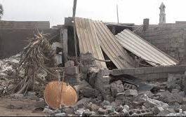 الحوثيون يقصفون مطاحن البحر الأحمر ومنازل أطراف مدينة الحديدة