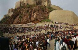 تعز تنظم مهرجان فني جماهيري في قلعة القاهرة خلال ايام عيد الاضحى المبارك