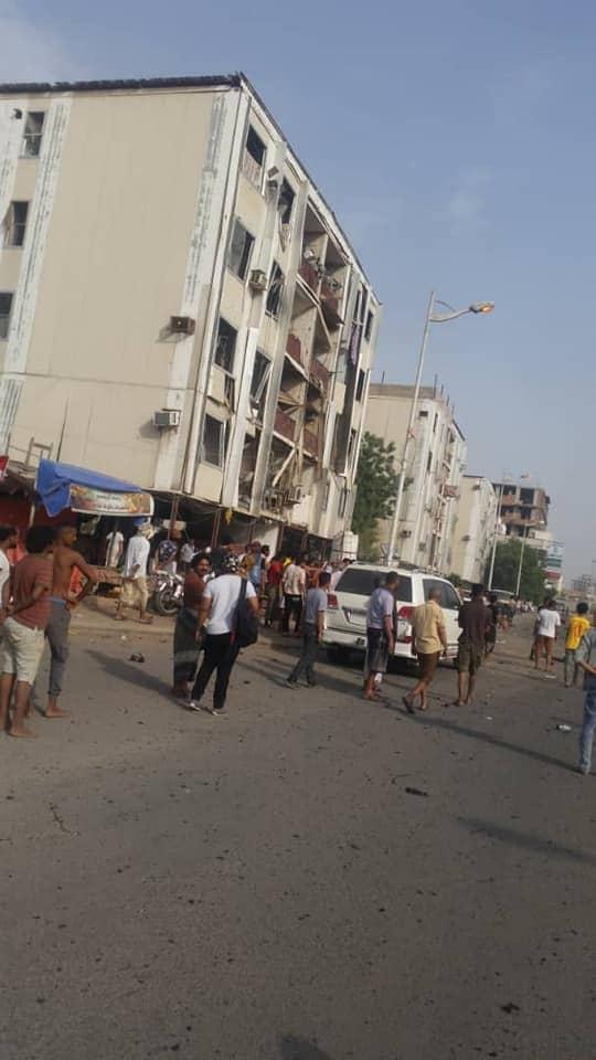 3قتلى وأكثر من 30 جريح ضحايا تفجير شرطة الشيخ عثمان (صور اولية)