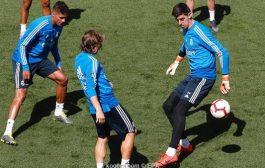 ثنائي ريال مدريد يعودا للتدريبات