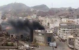 مدير البنك الاهلي : الأضرار اقتصرت على الجانب المادي ونطمن عملاء البنك بالسيطرة على الحريق