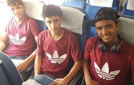 المنتخب اليمني لكرة القدم يغادر  للمشاركة في تصفيات كأس آسيا للناشئين