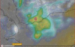 تحذيرات من استمرار هطول أمطار غزيرة خلال الساعات القادمة على عدن والمحافظات المجاورة