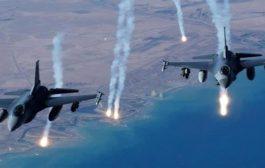مقاتلات التحالف تقصف معسكرات حوثية في #صعـدة
