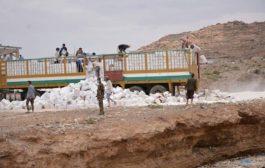 الغذاء العالمي يتهم الحوثيين باتلاف مساعدات غذائية كانت مخصصة للأسر المحتاجة في تعز
