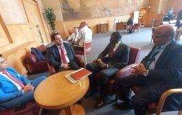وزير حقوق الإنسان يلتقي وزير العدل السوداني في جنيف