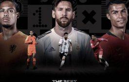 الاعلان عن اسماء المتنافسين على جائزة أفضل لاعب في العالم