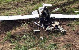 الجيش الوطني يسقط طائرة مسيرة كانت ستستهدف مواقعه بالجوف