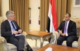 السويد تؤكد وقوفها إلى جانب اليمن وحكومته الشرعية
