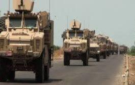 40 عربة عسكرية سعودية تصل عدن بعد اتفاق جدة