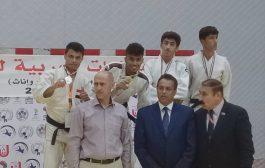 بطل يمني يحقق الميدالية الذهبية في البطولة العربية للجودو بالعاصمة الاردنية