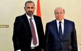 رئيس الجمهورية يلتقي بقيادات المجلس الانتقالي الجنوبي