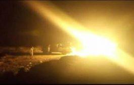 مدفعية القوات المشتركة تستهدف تجمعات حوثية شمال الضالع