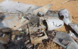 القوات الحكومية تسقط طائرة مسيرة شرقي تعز