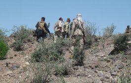 إفشال محاولة تقدم للحوثيين شمالي الضالع وقتل وجرح العشرات منهم