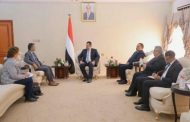 جوها يلتقي رئيس الحكومة في العاصمة عدن