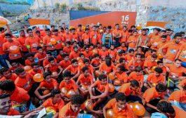 ماراثون شبابي في تعز يختتم حملة 16 يوم لمناهضة العنف