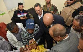 تعز : تدشين حملة التحصين ضد شلل الأطفال لأكثر من 300 ألف طفل دون الخامسة