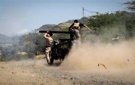 مصرع  عناصر حوثية في مواجهات مع الجيش غرب تعز