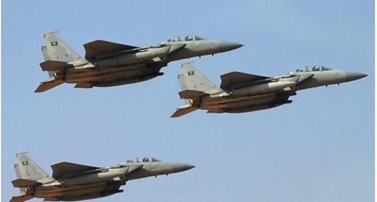 مقاتلات التحالف تقصف تعزيزات عسكرية لمليشيات الحوثي شمال الضالع
