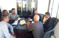 القائم بأعمال وزارة المياه يثمن الجهود التي يبذلها الصندوق الاجتماعي