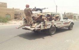 التحالف يحصر وينقل الأسلحة من معسكرات عدن