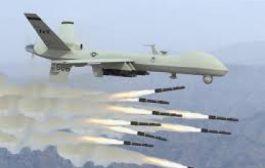 طائرة أمريكية تستهدف منزلاً لأحد أعضاء القاعدة بمأرب