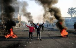 مقتل أربعة محتجين وشرطيين في العراق
