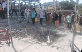 ارتفاع عدد الشهداء والجرحى جراء استهداف معسكر  في الضالع بصاروخ بالستي