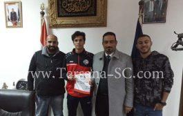 مهاجم يمني  يحترف في نادي مصري شهير