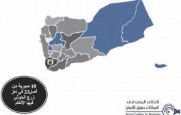 تقرير حقوقي يصنف تعز أكثر مدينة ملوثة بمخلفات الحرب
