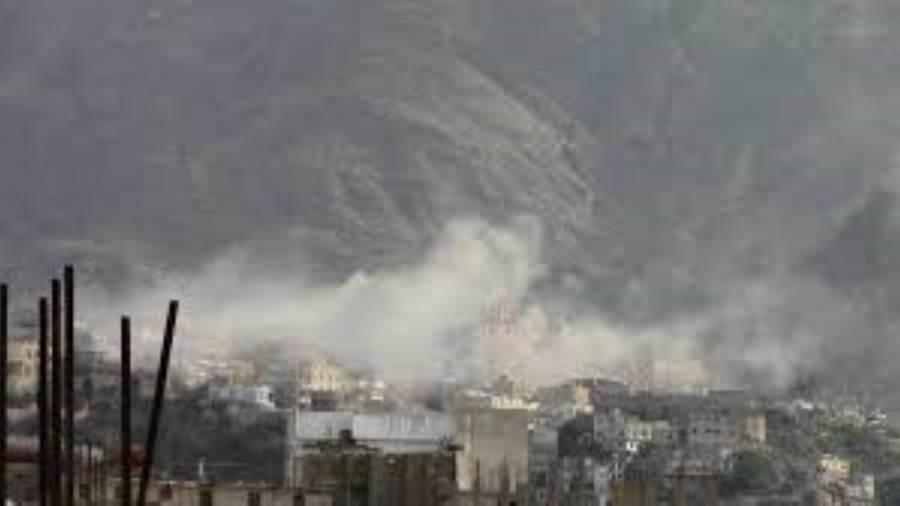 إصابة مواطن بقصف مدفعي لمليشيات الحوثي على الأحياء السكنية بحيس