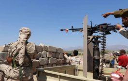 كسر محاولة تقدم لمليشيات الحوثي الإنقلابية شمالي الضالع