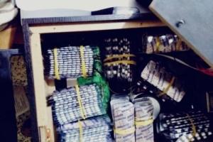 نقطة منفذ الرباط شمالي عدن تحبط محاولة تهريب مخدرات