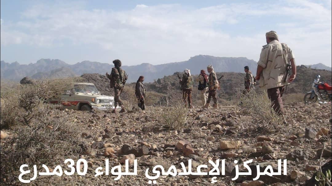 الجيش الوطني يستعيد تبة القابل في قطاع حبيل العبدي بالضالع .
