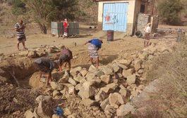 المرفدي يرفد مشروع مياه منيف بالدريح قطع غيار