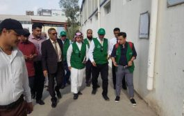 """""""البرنامج السعودي"""" يقف على احتياجات المطابع المدرسية في عدن"""