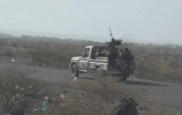 قوات اللواء٣٠ مدرع  تكسر هجوم للحوثين  غرب الضالع .